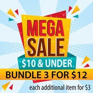 MEGA SALE BUNDLE 3 FOR $12